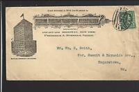 NEW YORK,NEW YORK COVER,#279, ILLUST BUILDING ADVT. MUTUAL RESERVE LIFE ASSOC.