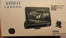 "Car DVR 4"" HD 1080P HD Camera and HD Video Recorder Dash G Sensor New In Box"