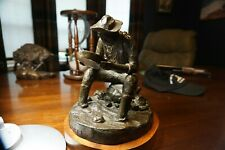 Robert Deurloo signed Poverty Gulch Bronze- number 5 of 30 in the edition