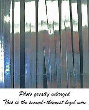 NEW Bezel Wire Cloisonne Strip .999 Fine Silver Flat .060 X .005 Qty=24 Inches