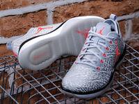 Nike Air Jordan 1 Low Wolf Grey / Infrared BRAND NEW UK 11.5 RARE