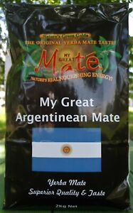 2kg My Great Argentinean Yerba Mate ( GRADE A & COARSE)
