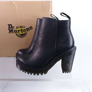 Size 6 Women's Dr. Martens Magdalena Ankle Booties 16734001 Black