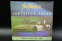 "Jan Hammer - Crockett's Theme (1986) (Vinyl 7"") (MCA Records - 258 360-7)"
