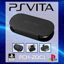 Official Sony PS Vita  2 in 1 Leather Hard Travel Play n Carry Cover Case/Stand
