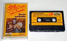 +++ Rolf Zuckowski und seine Freunde - Du da im Radio +++ MC, Kindermusik, gebr.