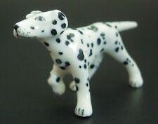 Miniature Ceramic DALMATIAN DOG Animal Curio Display Ornament Porcelain Animal
