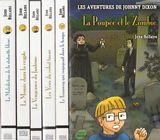 LOT 6 romans LES AVENTURES DE JOHNNY DIXON John Bellairs