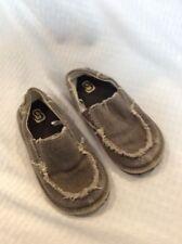 No Name Boys Imitation Pick Pocket Beach Summer Slip On Shoes Size 9 Brown