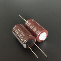30pcs 220uF 250V Nichicon CS 18x31.5mm 250V220uF High ripple current Capacitor
