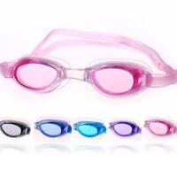 Kids Swimming Goggles Anti-fog Swim UV Glasses Adjustable Children Boys Girls