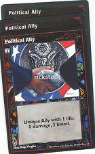Political Ally x3 VTES Jyhad Lot B