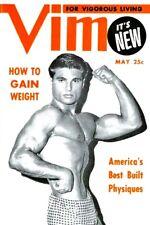 Vim, Premier Issue Vol.1 No.1, May 1954 Vintage Male Beefcake Magazine