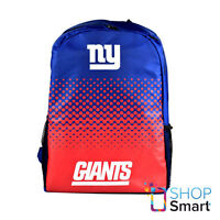 NEW YORK GIANTS NFL OFFICIAL AMERICAN FOOTBALL CLUB BACKPACK TRAVEL BAG TEAM NEW