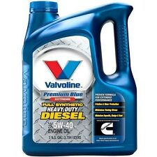 Valvoline 774038 Premium Blue Extreme Full Synthetic Diesel Motor Oil SAE 5W-40