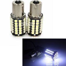 2PCS White Car 1156 382 Tail Turn Signal 80 SMD LED Bulb Lamp Light BA15S P21W
