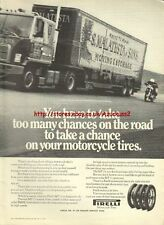 Pirelli MT 11 Tires Motorcycle 1973 Magazine Advert #2474