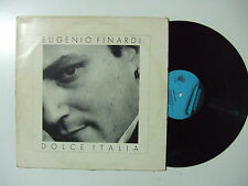 Eugenio Finardi – Dolce Italia - Disco Vinile 33 Giri LP Album ITALIA 1988 Rock