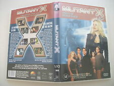 Mutant X : Vol 1 : Part 10 (DVD, 2002) Region 4 Sci-Fi DVD Rated M Used in VGC