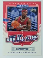 2004 Upper Deck All-Star Lineup Promo Scratch Off Lebron James #AS2, Scratched
