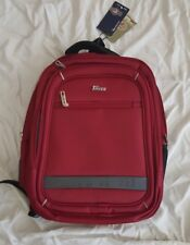 """Taikes Polo 17.5 """" Padded Computer Laptop Expandable Backpack Burgundy"""