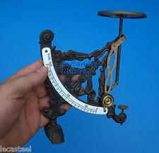 antique scale -  rarissime pèse lettres décoré superbe !