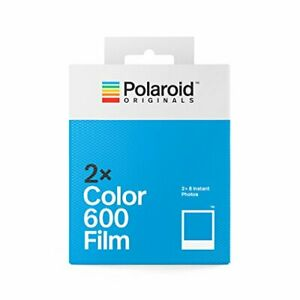 Polaroid Color Film for 600 Double pack (16 Film Sheets)