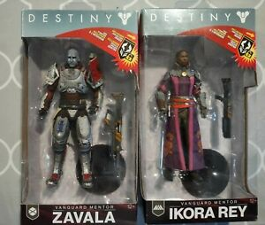 Destiny 2 Ikora Rey and Zavala McFarlane Toys 7 Inch Action Figures (NO EMBLEMS)