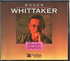 ROGER WHITTAKER  -  Zeit für Gefühle   Readers Digest 4 CD Box