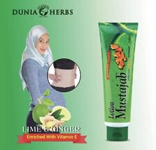 Mustajab with Ginger + Lime Extract Lotion 130ml