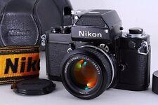 Exc+++++ Nikon F2 Photomic 35mm SLR Black w/ Ai 50mm f1.4 Case Dp-1 From Japan