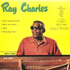 RAY CHARLES Hard Hearted Hannah FR Press Vega ABC-Paramount 45.90.875 EP