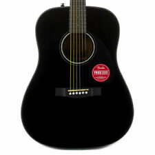 Fender Cd-60 Dreadnought V3 With Case Walnut Fingerboard Black