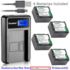 Kastar Battery LCD Charger for HITACHI DZ-BP7S & DZ-GX5020 DZ-HS300 DZ-HS300A