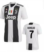 026ca453f0 NEW Adidas Juventus Ronaldo Soccer jersey #7 Jeep Series Size Large nwt