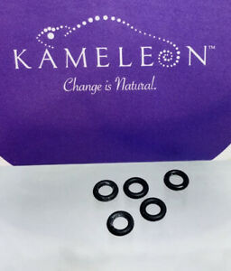 KAMELEON Jewelry Jewelpop Jewel Pop Replacement Rubber O Rings Set of 5