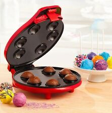 Bella 13542 Cake Pop and Donut Hole Maker Red USEDLIKE NEW