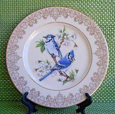 1988 Collectible Vintage Lenox Blue Jay Garden Bird Collection, Made in Usa