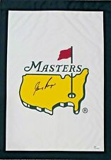 Gary Player Signed Autographed Garden Masters Flag JSA Authentic