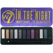 W7 Eyeshadow Palette In The Night - Shimmer Matte Smokey Eyes Dark Blendable