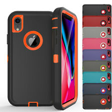 For iPhone 11Pro Max XS XR 8 7s 6+Shockproof Hybrid Rugged Heavy Duty Case Cover