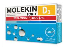 MOLEKIN FORTE VITAMIN D3 4000 j.m. KEEP BONES TEETH AND MUSCLES HEALTHY 60 TABS