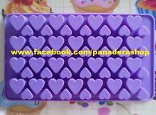 Small Heart Silicone Soap Embeds Chocolate Fondant Clay Jelly Mold Molder