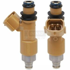 Fuel Injector Denso 297-0006 For Subaru Forester Impreza 2.5L H4 BWD 67559 TV