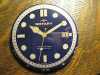 Rotary Aquaspeed Collection Wristwatch Watch Advertisement Lapel Hat Button Pin