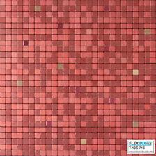 FlexiPixTile-Aluminum Peel & Stick Mosaic Tile Kitchen Backsplash Bath -SALSA