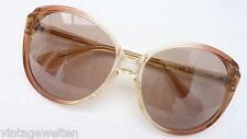 Menrad Women's Sunglasses Extra Large Vintage in brauntönen Unworn Size L