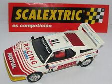 SCALEXTRIC SPAIN PLANETA RALLIES MITICOS BMW M1 DARNICHE-MAHE  LTED.ED.  MINT