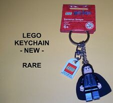 LEGO -  KEYCHAIN - 852980 -     SEVERUS SNAPE     - NEW -      HARRY POTTER