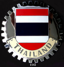CAR GRILLE EMBLEM BADGES -  THAILAND(FLAG)